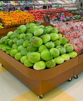 スーパーマーケット様の販売促進